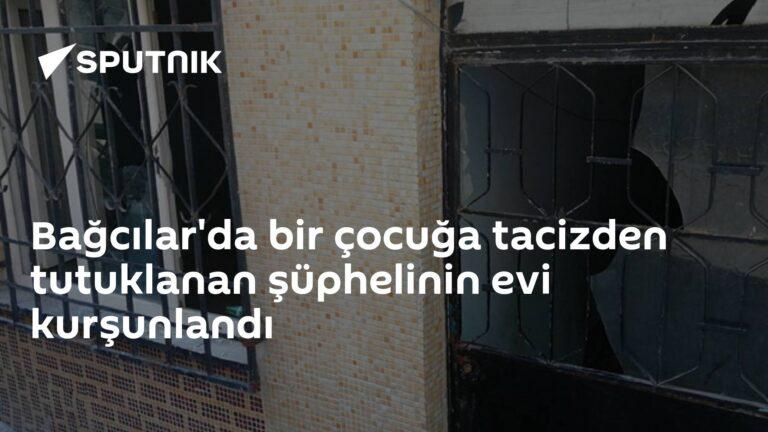 Bağcılar'da bir çocuğa tacizden tutuklanan şüphelinin evi kurşunlandı