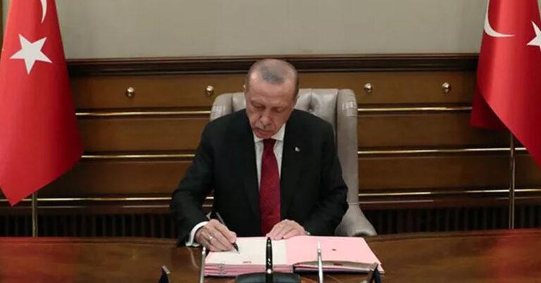 Erdoğan İmzaladı: Vali ve İl Emniyet Müdürlüğü Ata...