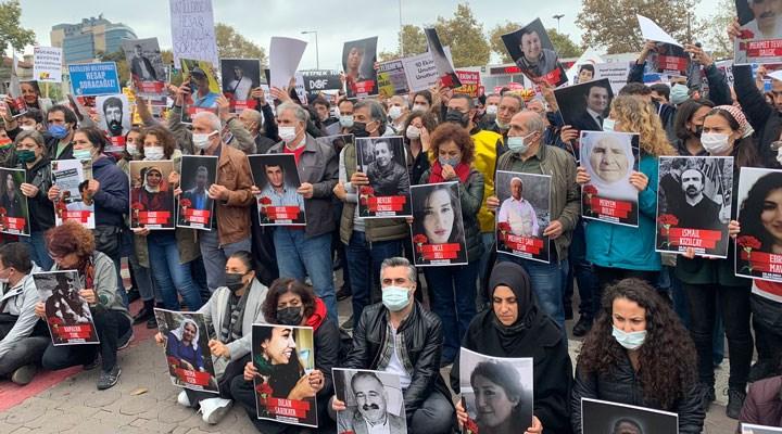 Kadıköy'de 10 Ekim eylemi: Ankara Katliamı siyasi bir cinayettir