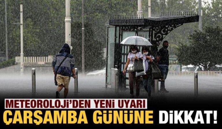 Meteoroloji'den yeni uyarı! Sağanak yağış ne zaman sona erecek?