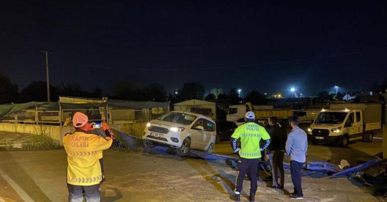 Sakarya'da Alkollüyken Araç Çalan Adam Ortalığı Bi...