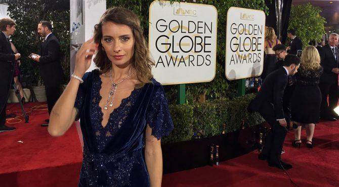 Tuba Ünsal, Golden Globe heyecanı yaşadı